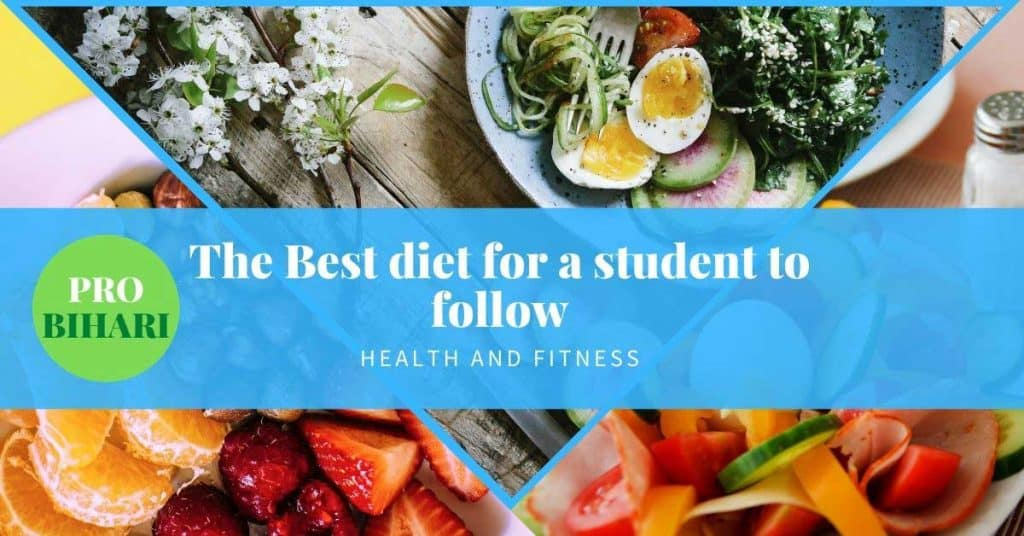 The best diet for a student to follow