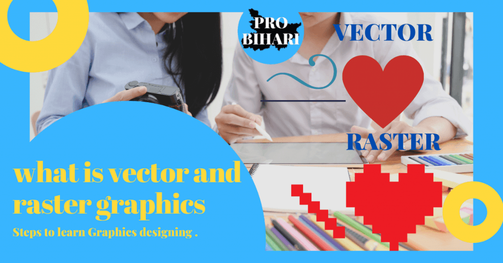 what is vector and raster graphics